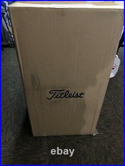 New In Plastic And Box 2021 Titleist Jet Black Staff Tour Golf Bag Ready To Ship