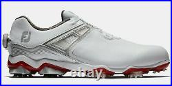 New in Box FootJoy Tour X BOA shoes size 12M White / Grey / Red