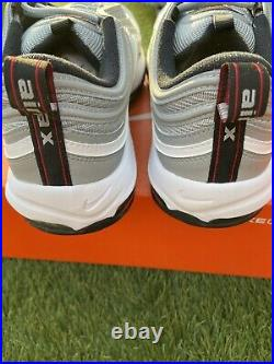 Nike Mens Air Max 97 G Silver Bullet Golf Shoes Size 10.5 New In Box