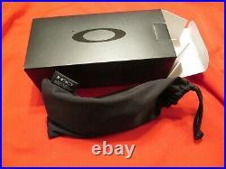 Oakley M Frame Lens Strike New In Box Grey W Black Nose Piece & Micro Fiber Bag