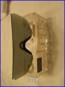 Oakley Razor Blades 1989 New In Box Standard Grey Lens W Grey Nose Pc Vintage