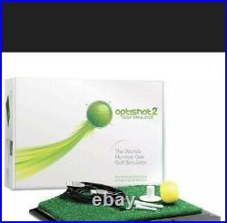 OptiShot 2 Golf Simulator AND extra Gorilla Top Turf Pro NEW in the box