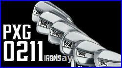 PXG 0211 Irons(2020), 4-9, PW, GW, SW, LW Stiff Steel 10 clubs New in box