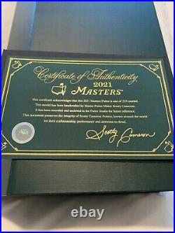 RARE Limited Edition 2021 Scotty Cameron Masters Putter 1/233 Brand New In Box