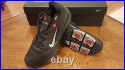 RARE! NIKE TW 13 Tiger Woods Ltd Ed Mens Golf Shoes NEW witho Box Blk 9M NICE