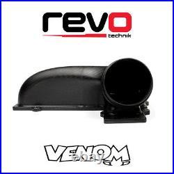 REVO Matte Carbon Fiber Air Filter Box Intake Top Lid & IS20 IS38 Turbo Hose Kit