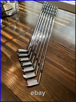 Rare Limited Edition TaylorMade Tiger Woods P7TW Irons Box Set Collectors Item