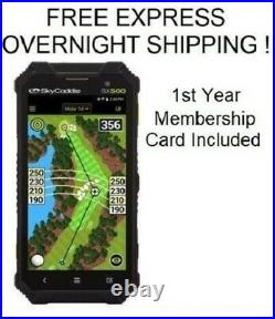 SkyCaddie SX500 New In Box First Year Membership Included SX 500 Free Ship