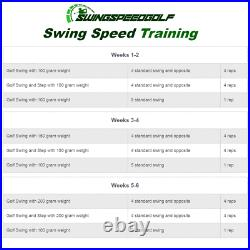 Swing Speed Golf Training Aid, Helps Increase Distance & Power Brand New Boxed