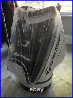 TaylorMade Den Caddie Golf Bag White/Black N6545601, BRAND NEW still in box