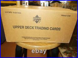Tiger Woods 2001 Upper Deck Golf Hobby Case 12 boxes Auto Rookie PSA 10 Sealed