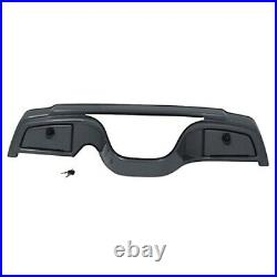 Titanium Dash Cover Assembly Yamaha Drive G29 Golf Cart with Locking Glove Boxes