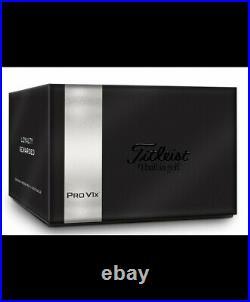 Titleist Pro V1x (2021)4 dozen Box of 48 Loyalty Rewards White Golf Balls New