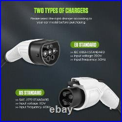 Type 2 Electric Car Charger Wall Mount Box 7KW 32A 8.5m for All Electric Cars