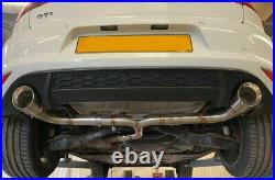VW Golf MK7 & MK7.5 2.0 GTI Back Box Muffler Delete Sport Exhaust Pipe Dynamics