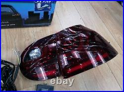 VW Golf Mk5 Rear LED Style Rear Lights Cherry Red Finish JOM 82929 OPEN-BOX#
