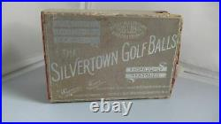 Vintage Silvertown Gutty Golf Balls 1890 New-In-Box! RARE, MUST SEE