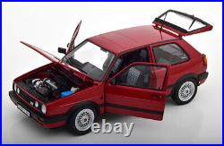 Volkswagen Golf 2 Gti Red Great Example & Detail 118 Scale Diecast Model Boxed