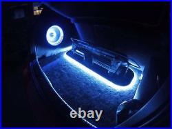 Vw Golf Mk5 Mk6 10 Stealth Sub Speaker Enclosure Box Sound Bass Audio Car New