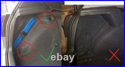 Vw Golf Mk 5 & 6 12 Stealth Sub Speaker Enclosure Box Bass Audio Upgrade Car