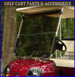 Yamaha G22 Tinted Windshield 2003-'06 Folding Style NEW IN BOX Golf Cart Part